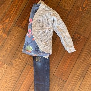Other - Girls Crocheted Cardigan